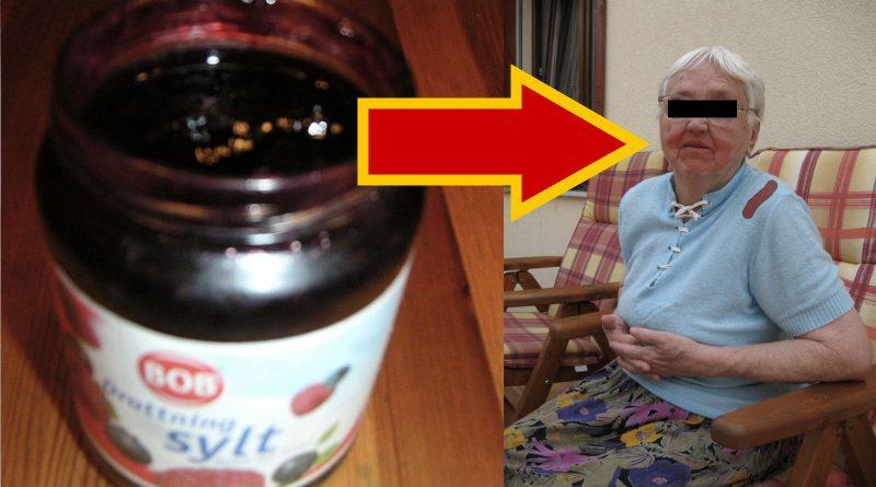 Efter burkstrulet – Gunnel, 93, smetade drottningsylt i ansiktet